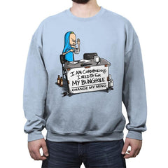 Change My T.P. - Crew Neck Sweatshirt - Crew Neck Sweatshirt - RIPT Apparel