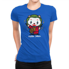 Hello Jokster - Womens Premium - T-Shirts - RIPT Apparel