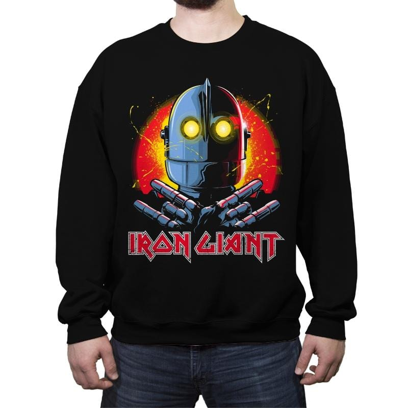 METAL FOREVER - Crew Neck Sweatshirt - Crew Neck Sweatshirt - RIPT Apparel