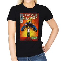 The Amazing All Might - Best Seller - Womens - T-Shirts - RIPT Apparel