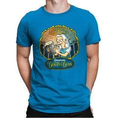 Beauty and the Bean - Mens Premium - T-Shirts - RIPT Apparel