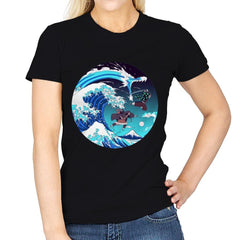 Breath of the Great Wave - Womens - T-Shirts - RIPT Apparel