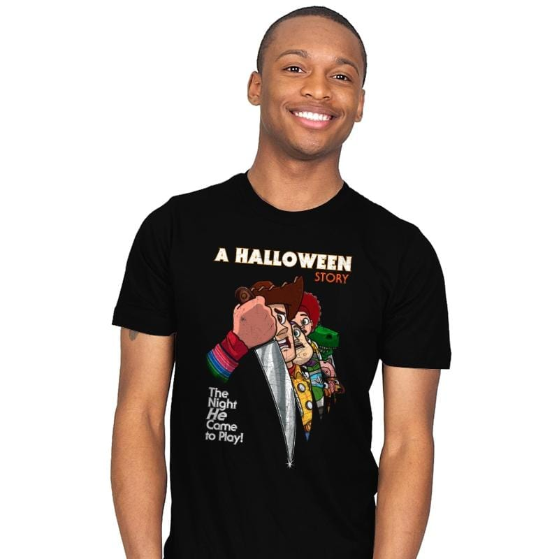 A Halloween Story - Mens - T-Shirts - RIPT Apparel