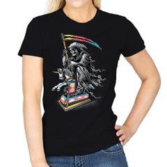Death Enjoying Life - Womens - T-Shirts - RIPT Apparel