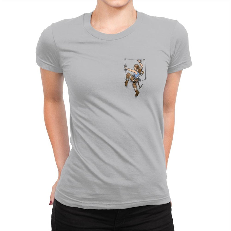 Pocket Raider Exclusive - Womens Premium - T-Shirts - RIPT Apparel