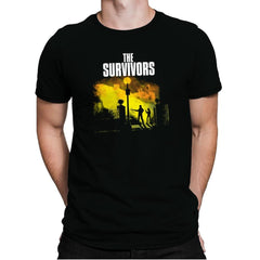 The Survivors Exclusive - Dead Pixels - Mens Premium - T-Shirts - RIPT Apparel