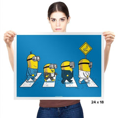 Banana Road - Prints - Posters - RIPT Apparel