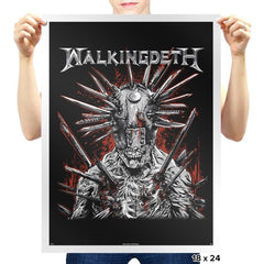 Walkingdeth - Prints - Posters - RIPT Apparel