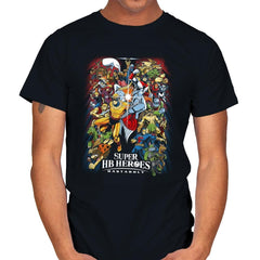 Super HB Heroes - Mens - T-Shirts - RIPT Apparel