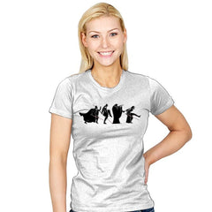 Empire of Silly Walks - Womens - T-Shirts - RIPT Apparel