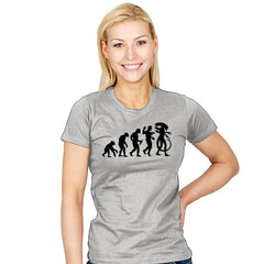 Silicon-Based Evolution - Womens - T-Shirts - RIPT Apparel