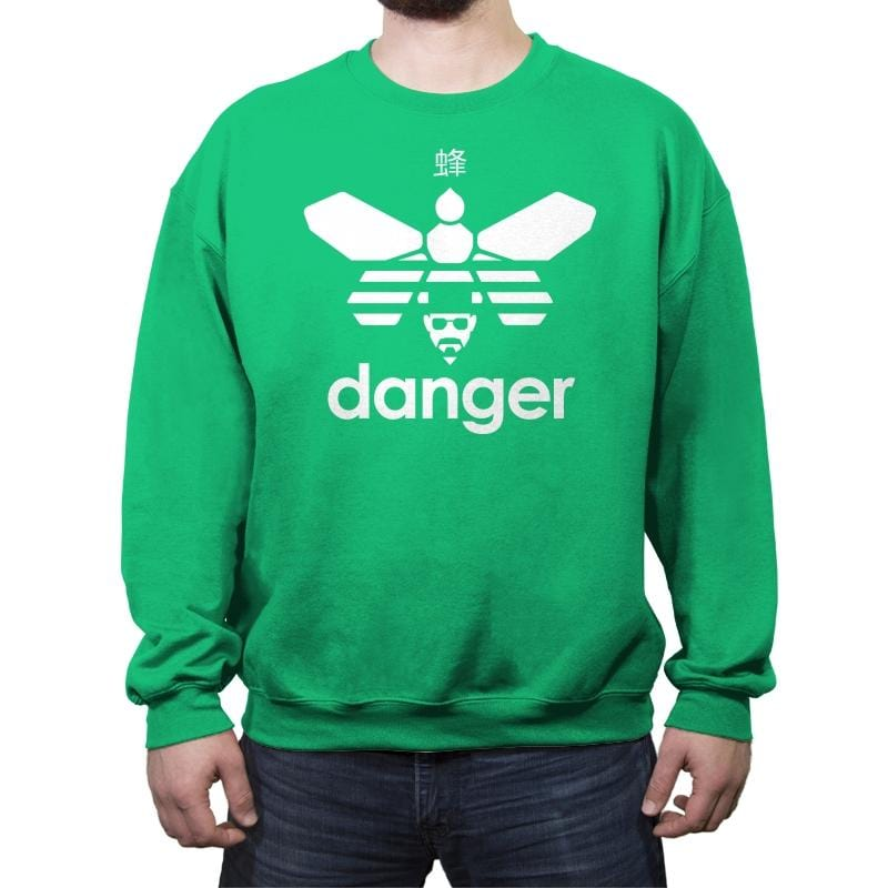 Danger Classic - Crew Neck Sweatshirt - Crew Neck Sweatshirt - RIPT Apparel