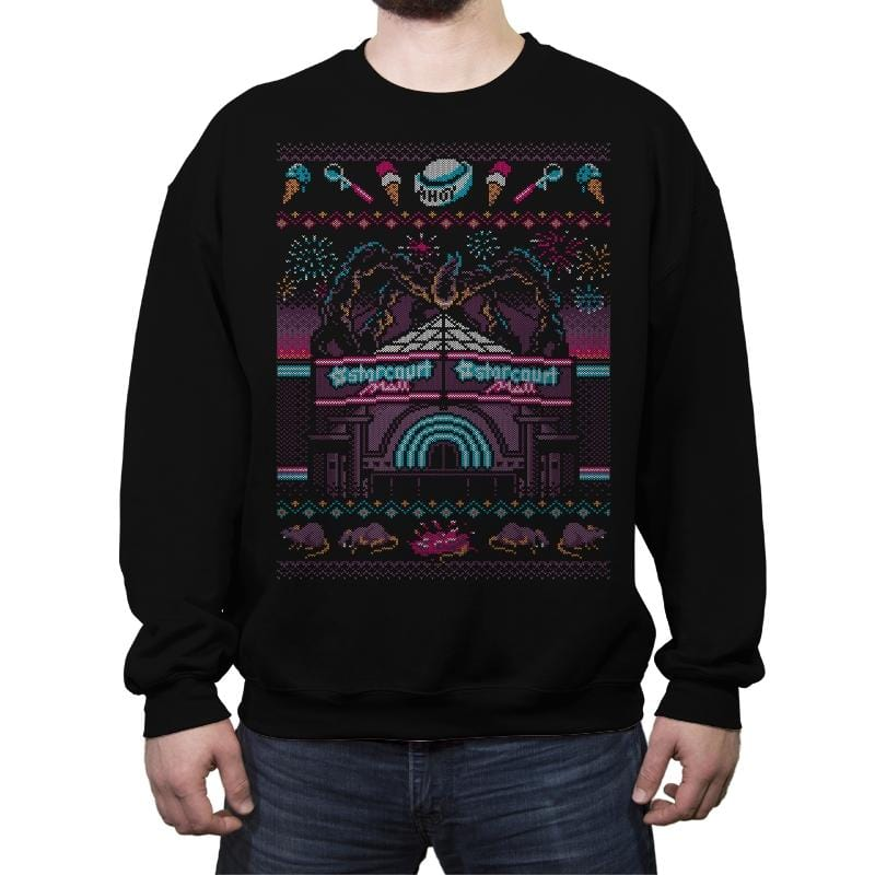 Stranger Sweater 3 - Ugly Holiday - Crew Neck Sweatshirt - Crew Neck Sweatshirt - RIPT Apparel