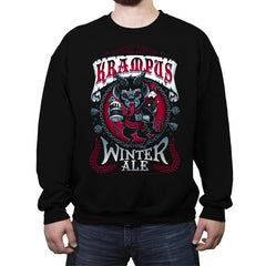 Krampus Winter Ale - Crew Neck Sweatshirt - Crew Neck Sweatshirt - RIPT Apparel