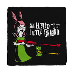 Say Hello to My Little Friend! - Coasters - Coasters - RIPT Apparel