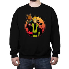 Mortal Shaggy - Crew Neck Sweatshirt - Crew Neck Sweatshirt - RIPT Apparel