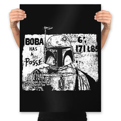 Bounty Hunter Posse - Prints - Posters - RIPT Apparel