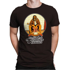 The God of Thunder Abides - Anytime - Mens Premium - T-Shirts - RIPT Apparel
