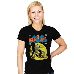 DREAMLAND - Womens - T-Shirts - RIPT Apparel