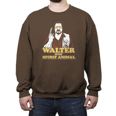 Walter is my Spirit Animal Exclusive - Crew Neck Sweatshirt - Crew Neck Sweatshirt - RIPT Apparel