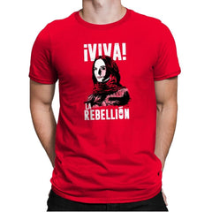 Viva La Rebellion Exclusive - Mens Premium - T-Shirts - RIPT Apparel