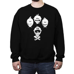 LOOK AT ME!  - Crew Neck Sweatshirt - Crew Neck Sweatshirt - RIPT Apparel