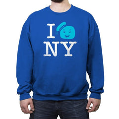 I Gozer New York Reprint - Crew Neck Sweatshirt - Crew Neck Sweatshirt - RIPT Apparel