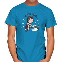 Wash Your Han - Mens - T-Shirts - RIPT Apparel