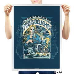 These Violent Delights - Prints - Posters - RIPT Apparel