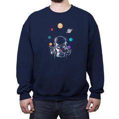 Space Circus - Crew Neck Sweatshirt - Crew Neck Sweatshirt - RIPT Apparel