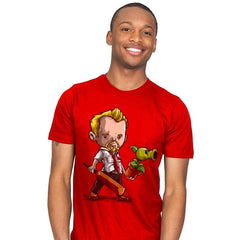 Shaun vs Zombies - Art Attack - Mens - T-Shirts - RIPT Apparel