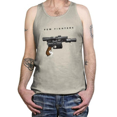 Pew Fighters - Tanktop - Tanktop - RIPT Apparel