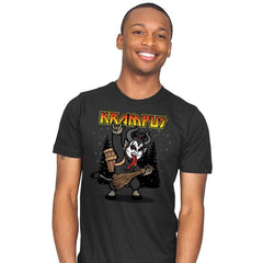 Kiss the Krampus - Mens - T-Shirts - RIPT Apparel
