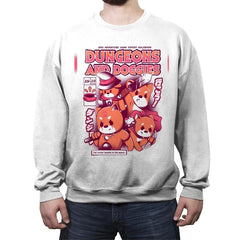 Dungeons & Doggies - Crew Neck Sweatshirt - Crew Neck Sweatshirt - RIPT Apparel