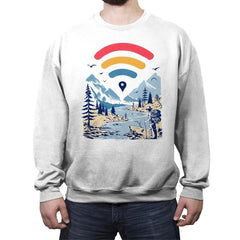 Internet Explorer - Crew Neck Sweatshirt - Crew Neck Sweatshirt - RIPT Apparel