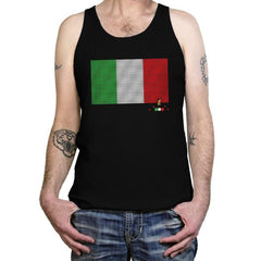 Italy Brick Flag Exclusive - Tanktop - Tanktop - RIPT Apparel