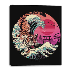 Rad Tiger Wave - Canvas Wraps - Canvas Wraps - RIPT Apparel