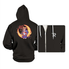 Moon Light Samurai - Hoodies - Hoodies - RIPT Apparel