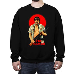 Fat Rambo - Crew Neck Sweatshirt - Crew Neck Sweatshirt - RIPT Apparel