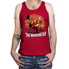 The Incredid'oh! - Tanktop - Tanktop - RIPT Apparel