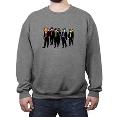 Reservoir Pixels - Crew Neck Sweatshirt - Crew Neck Sweatshirt - RIPT Apparel