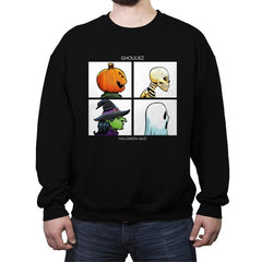 Ghouliez: Halloween Daze - Crew Neck Sweatshirt - Crew Neck Sweatshirt - RIPT Apparel