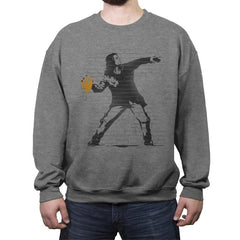 Go Long Mark! - Crew Neck Sweatshirt - Crew Neck Sweatshirt - RIPT Apparel