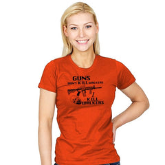 Guns Don't Kill Walkers Exclusive - Womens - T-Shirts - RIPT Apparel
