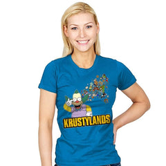 Krustylands - Womens - T-Shirts - RIPT Apparel