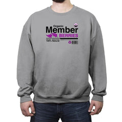 Organic Member Berries - Crew Neck Sweatshirt - Crew Neck Sweatshirt - RIPT Apparel