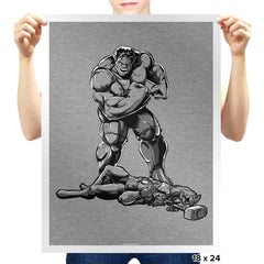 The Strongest of All Time - Prints - Posters - RIPT Apparel