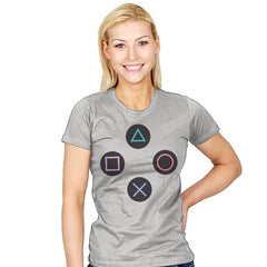 Stay Together - PlayStation - Womens - T-Shirts - RIPT Apparel