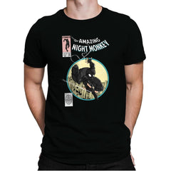 The Amazing Night Monkey - Anytime - Mens Premium - T-Shirts - RIPT Apparel