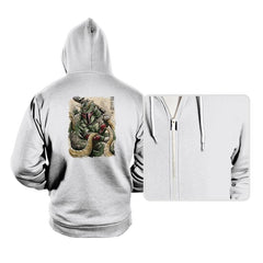 Samurai Hunter - Hoodies - Hoodies - RIPT Apparel